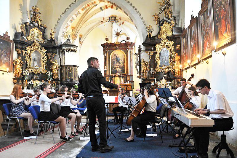 Ani letos nechyběl v našem programu koncert v Osicích