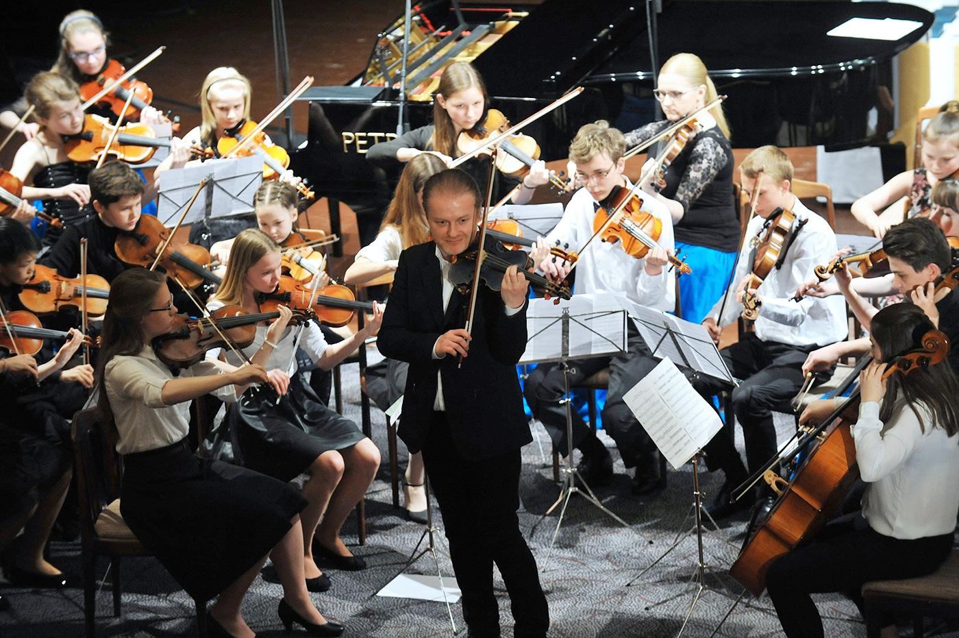 Vystoupení na Kocianově houslové soutěži 2017